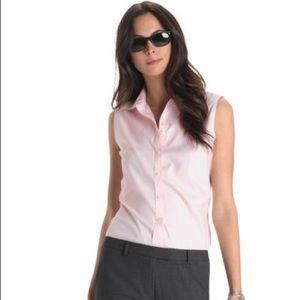 Brooks Brothers Pink Sleeveless collared shirt